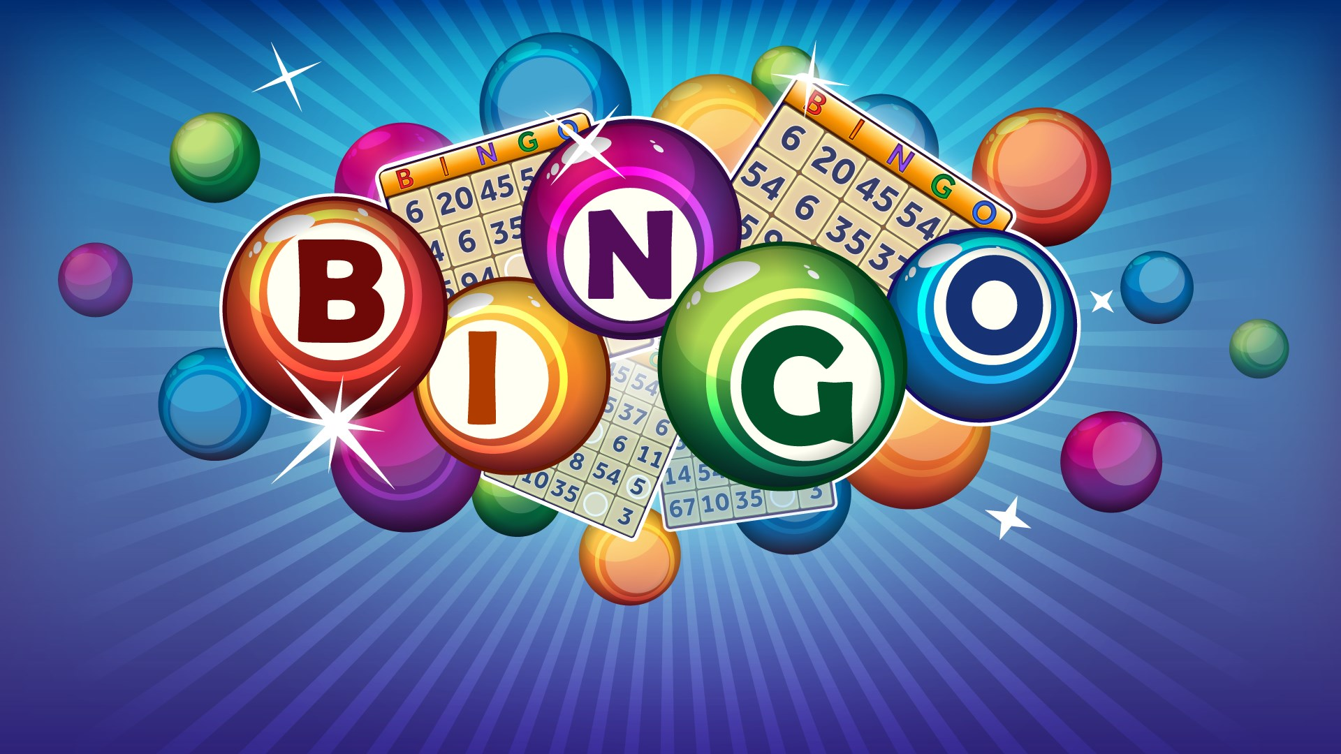 Bingo 80 is the simplest version to play